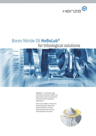 HeBoLub Flyer bornitrid powder in oil